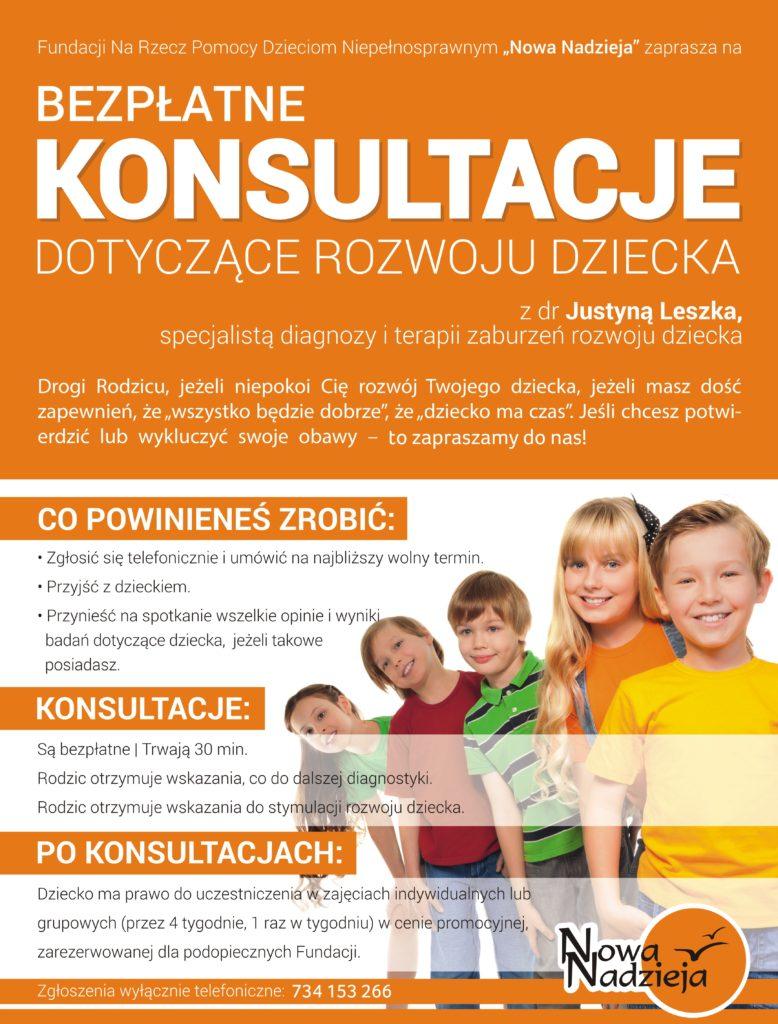 Plakat bezpłatne porady Poznań